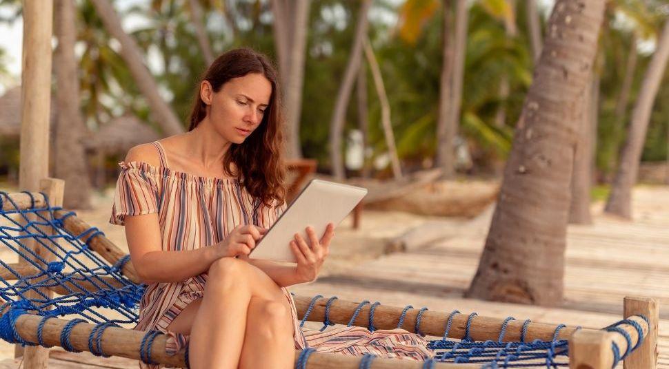 Relájate en la playa después de haber conseguido lo que siempre quisiste para tu negocio.